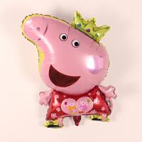 儿童宝宝生日周岁派对装饰布置用品卡通铝膜气球