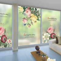 磨砂玻璃贴膜卧室防窥视卫生间浴室阳台透光不透明窗花窗户纸遮光