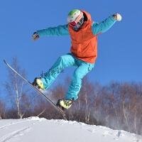 户外滑雪服男女款单板滑雪服抗寒保暖防风防水冬季雪地裤滑雪裤