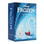 冰雪奇缘100张收藏明信片 Disney Frozen Postcard Box 英文原版 经典卡通人物 冰雪女王 白