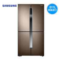 三星冰箱 RF60J9061TL 611L 无霜保湿三循环 智能变频双压缩机 金属匀冷却 品式结够 韩国