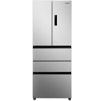 三星(SAMSUNG) BCD-402DTISE1 450升风冷无霜智能变频多门冰箱银色