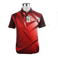 STIGA斯蒂卡 乒乓服装 比赛服男女运动短袖上衣 CA-23141