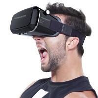 创意礼品生日礼物男 VR眼镜 迷你手机3d智能虚拟现实情人节礼物 黑色
