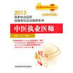 中医执业医师(2013国家执业医师资格考试应试指导系列)