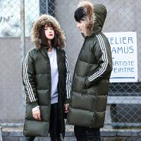 新款冬季棉衣男女外套韩版修身加厚保暖情侣棉服中长款学生潮棉袄