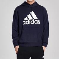adidas阿迪达斯男服卫衣2019新款连帽套头休闲运动服DT9943