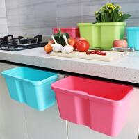 厨房橱柜门挂式垃圾桶杂物桶桌面垃圾桶家用收纳盒垃圾篓储物创意