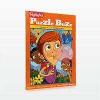 美国进口 Highlights Puzzle Buzz 游戏书 益智游戏集【平装】