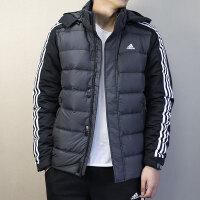 Adidas阿迪达斯 男子 运动羽绒服 冬季户外防风保暖连帽羽绒外套 BQ8583