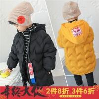 童装男童外套冬装2017新款儿童棉袄中长款韩版潮流小孩棉衣3四岁5
