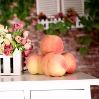 预售桃子现摘现发新鲜水果水蜜桃12颗包邮当季水蜜桃