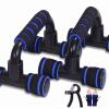 俯卧撑支架工字型h男士健身器材家用练臂肌胸肌腹肌锻炼俯卧撑架p7y