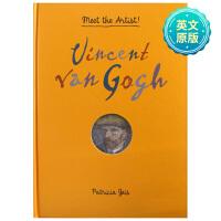认识艺术家:Vincent van Gogh文森特・梵高 儿童立体书 艺术启蒙 6-12岁