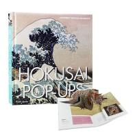 【现货新书】 Hokusai Pop-Up 葛饰北斋的立体书 3D立体画册 英文原版艺术图书 日本浮世绘