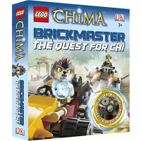 乐高气功传奇 砖块积木 英文原版 LEGO Legends of Chima Brickmaster the Ques