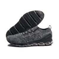 李宁男鞋跑步鞋2018剑影李宁弧减震气垫反光一体织男士运动鞋ARHM089