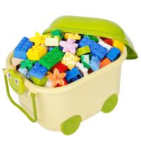 儿童积木宝宝城堡玩具1益智拼装智力2-3-6岁大颗粒5男孩4动脑拼图