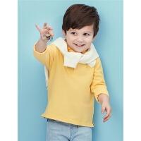 男童春装小童小衫宝宝polo衫长袖T恤纯棉童装春秋打底衫
