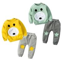20180506587女婴儿童运动开衫外套装卫衣服0岁6个月1秋冬装3婴幼儿宝宝春秋装