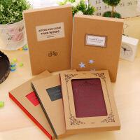 韩国文具520时尚A5硬面抄记事本欧式创意学生日记本商务笔记本子