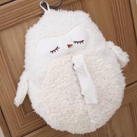 毛绒玩具挂件创意抽纸盒套车载纸巾盒礼物家居