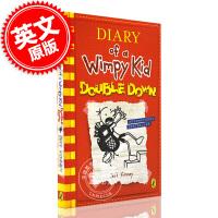 现货 小屁孩日记11 第十一册 英文原版 DIARY OF WIMPY KIDS: DOUBLE DOWN 11 酷宝
