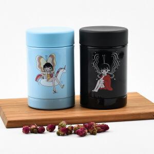 特百惠水杯 250ml迷你闷烧杯创意大口便携可爱女学生不锈钢保温杯