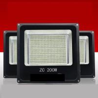 LED灯100W投光灯射灯户外照明灯路灯室外灯探照灯防水投射灯超亮 50瓦铝壳 白光