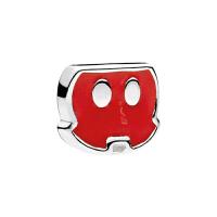 【网易考拉】PANDORA 潘多拉 Disney吊坠盒系列 Mickey trousers 米奇的裤子 漂浮盒子内置小