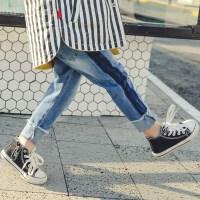 儿童牛仔裤男童春季童装裤子男孩春秋款长裤中大童单裤潮