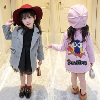 女宝毛呢女童妮子外套2017新款韩版公主1-3岁6女宝宝冬装大衣呢子