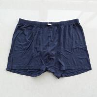 裤衩竹棉莫代尔平角裤内裤深蓝色男士军内裤 1号 94-98CM