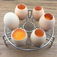 蛋托蒸架高脚鸡蛋煮杯子蒸格笼铁板烧烤箱鸡蛋布丁