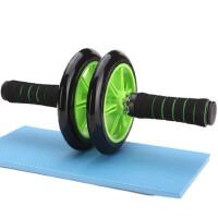 户外运动健腹轮巨轮 腹肌轮静音 腹部健身器材家用滚轮健腹器双轮