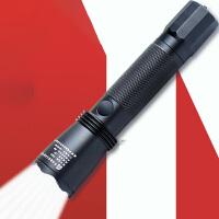 多功能强光巡检手电筒可充电远射LED工作灯迷你家用
