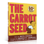 顺丰发货 The Carrot Seed 胡萝卜种子 60周年纪念版 美国学生课外阅读!梦想就像一颗胡萝卜种子!美国T