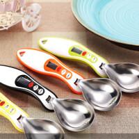 厨房电子秤不锈钢量勺称勺子秤