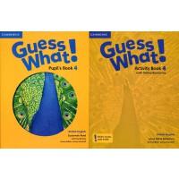 剑桥少儿英语教材 Guess What! Level 4 学生用书+练习册 英音版