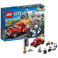 LEGO乐高城市系列City 追踪重型拖车 60137
