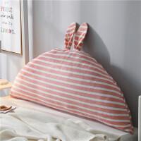 卡通床头靠垫儿童抱枕床靠背垫韩式公主靠枕双人榻榻米软包大靠背T