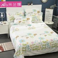 床单单件学生宿舍床单1.8m双人床单被单单人床1.5m纯棉单人