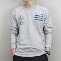 Adidas阿迪达斯 NEO 男子 运动卫衣 圆领保暖套头衫CD3558