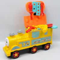 儿童玩具 火车头玩具多功能收纳玩具车宝宝儿童早教益智礼盒装生日礼物