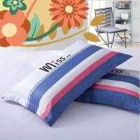 【支持礼品卡】学生单人护颈椎枕床上枕芯加枕套套装枕头带枕套一对 i4l