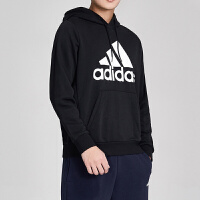adidas阿迪达斯男服卫衣2019新款连帽套头衫休闲针织运动服DQ1461
