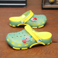 儿童男童沙滩鞋女童凉拖鞋果冻鞋宝宝夏季大童防滑包头软底