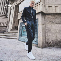 李宁运动套装男士2018新款训练系列开衫长袖卫衣卫裤夏季运动服AWEN015