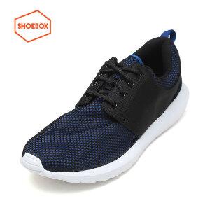 达芙妮旗下SHOEBOX/鞋柜新款时尚户外运动鞋低跟系带休闲鞋男鞋