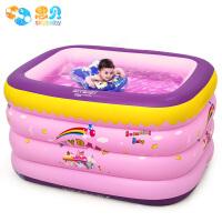 新生幼儿家用浴盆玩具婴儿游泳池儿童充气宝宝家庭游泳桶